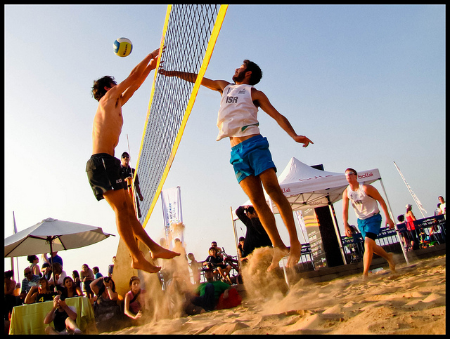 Beach-Volleyball (Sommerfest-Ideen)