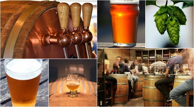 Bier trinken (Sommerfest-Ideen)