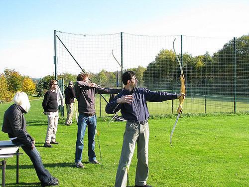 Bogenschießen (Sommerfest-Ideen)