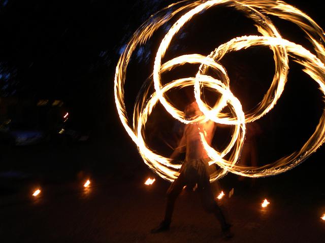 Feuerartist (Sommerfest-Ideen)
