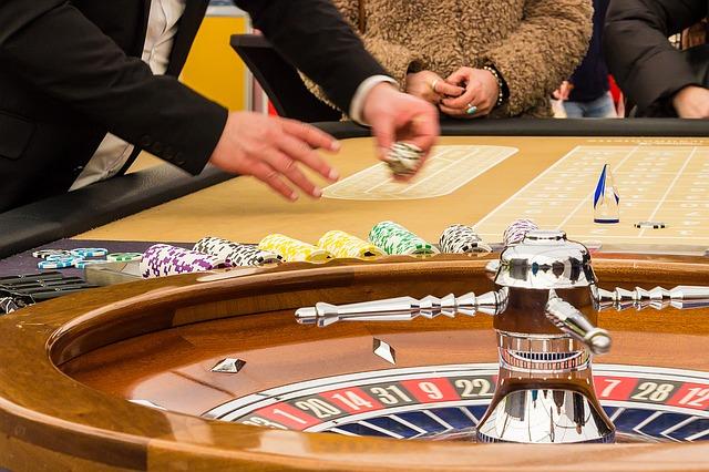 Am Roulette-Tisch (Sommerfest-Ideen)