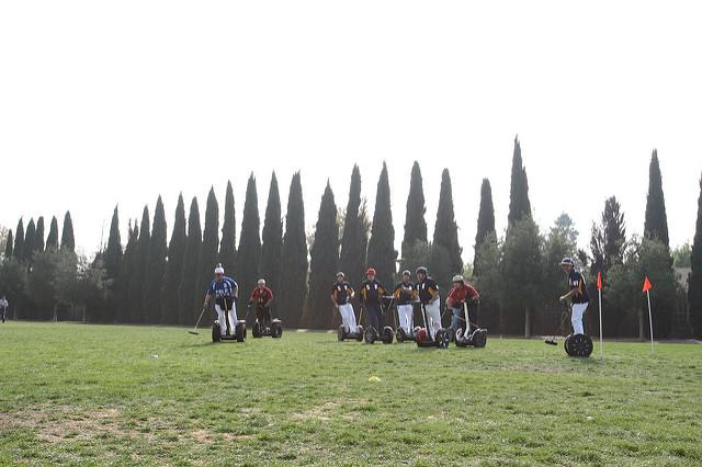 Segway-Polo (Sommerfest-Ideen)