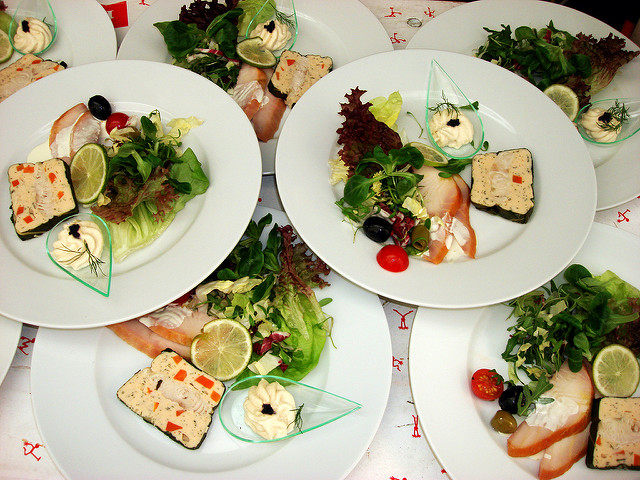Sommerliches Catering (Sommerfest-Ideen)