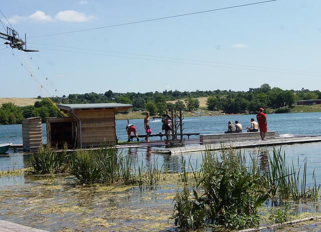 Wasserskianlage (Sommerfest-Ideen)